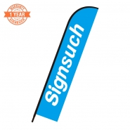 Replacement Flat 4.8M feather banner