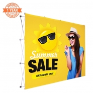 3X4 Straight Pop up display kits